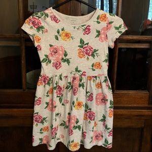 Girls Carter's Floral Dress Size 7